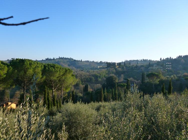 Vue de la Toscane